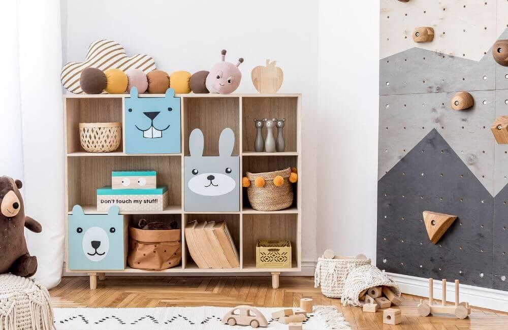 Playroom Storage and Organization
