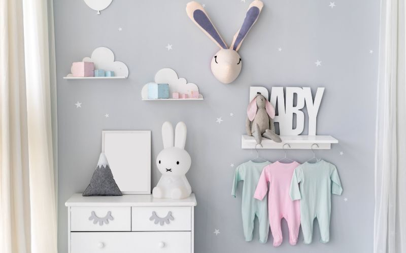 Nursery Storage Ideas